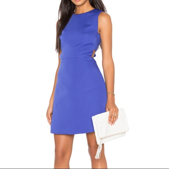 kate spade Dresses & Skirts - Kate Spade Cut Out A-line Dress in Indigo Ink